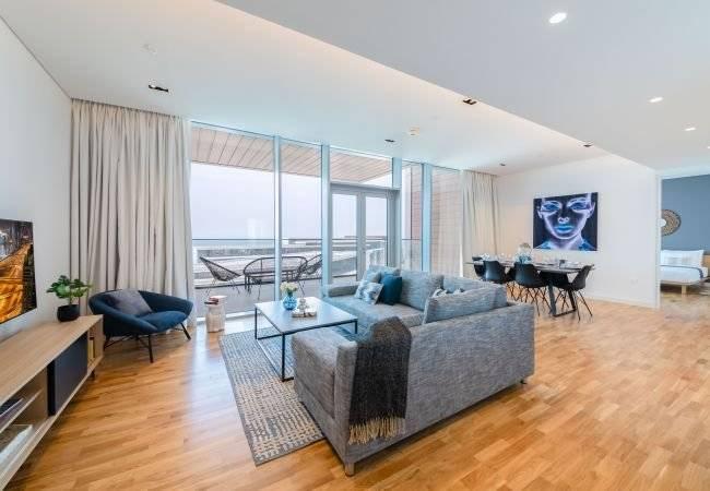 Dubai - Alquiler vacacional - Apartamento - 3 Personas - 1 Dormitorio - 1 Baño - 107 m2 - Piscina