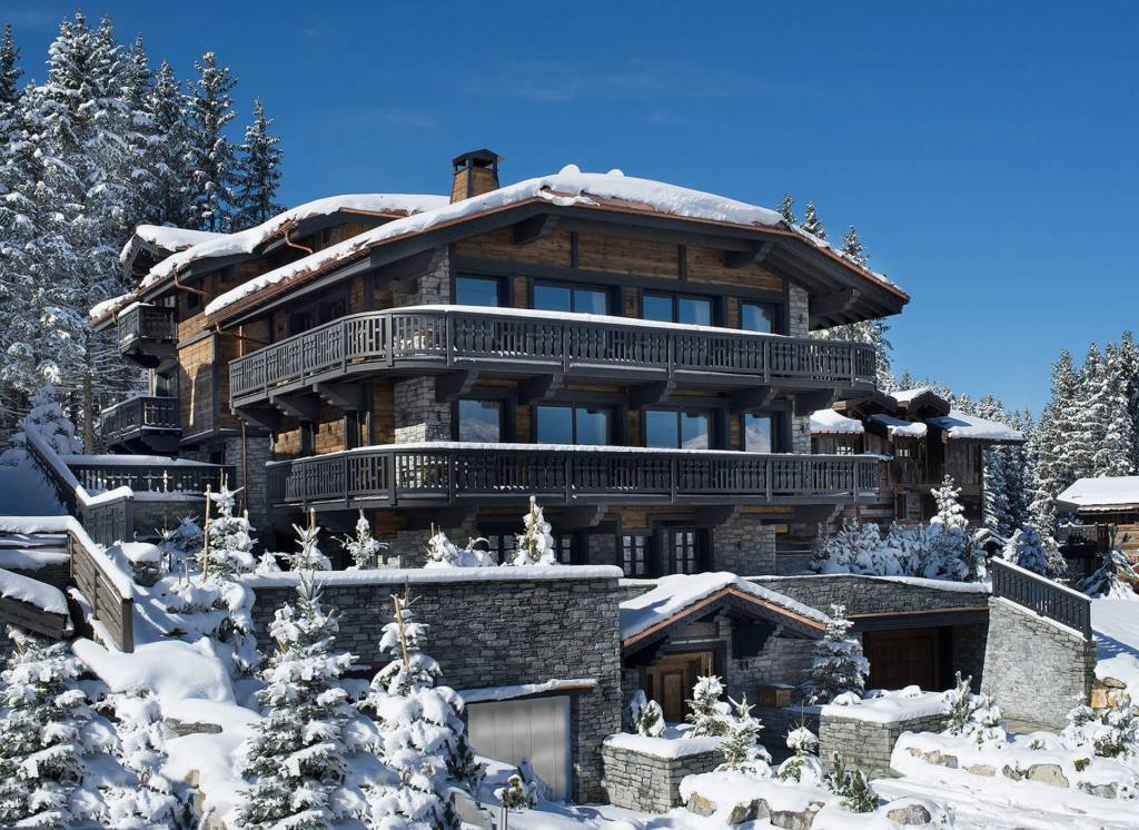Courchevel 1850 - Holiday rental - Chalet - House - 18 Persons - 8 Bedrooms - 9 Bathrooms - Swimming pool