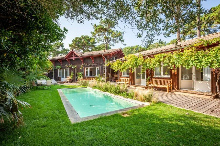 Cap Ferret - Holiday rental - House - 10 Persons - 5 Bedrooms - 5 Bathrooms - 160 m² - Swimming pool