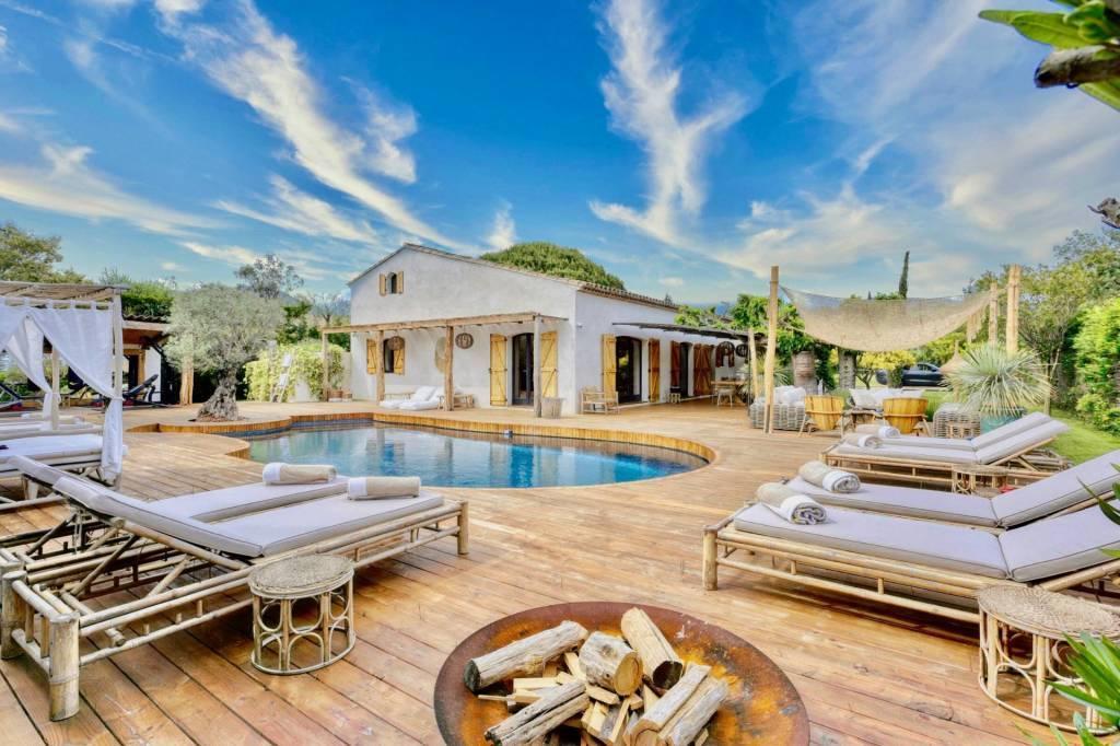 Grimaud - Alquiler vacacional - Casa - 10 Personas - 5 Habitaciones - 5 Baños - 250 m² - Piscina