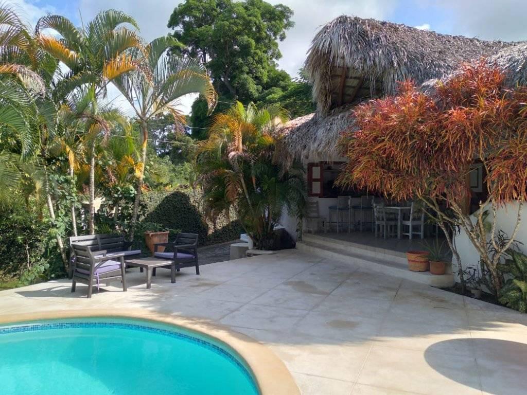 République dominicaine - Las Terrenas - Location saisonnière - Maison - 5 Chambres - Piscine.