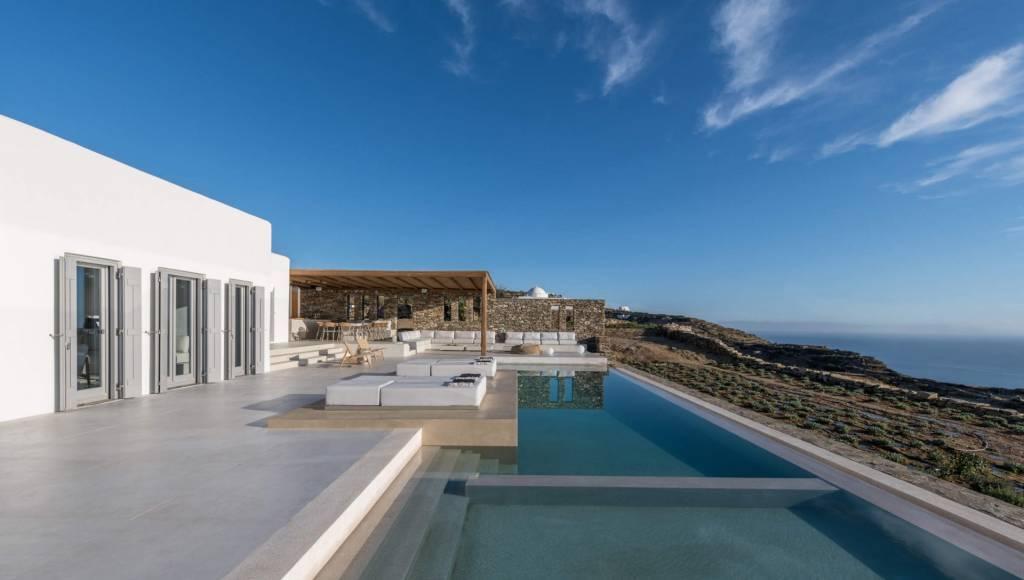 Iles des Cyclades - Sifnos - Location saisonnière - Maison - 14 Personnes - 7 Chambres - 9 Salles de bain - Piscine