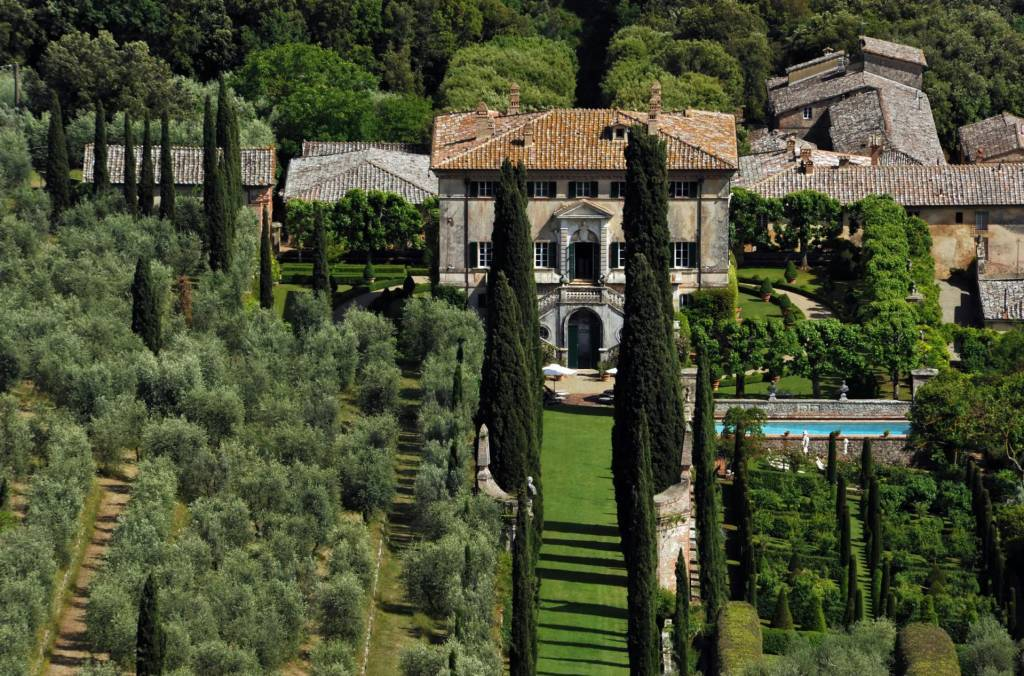 Province of Siena - Tuscany - House - Holiday rental - 25 Persons - 13 Bedrooms - Swimming pool.