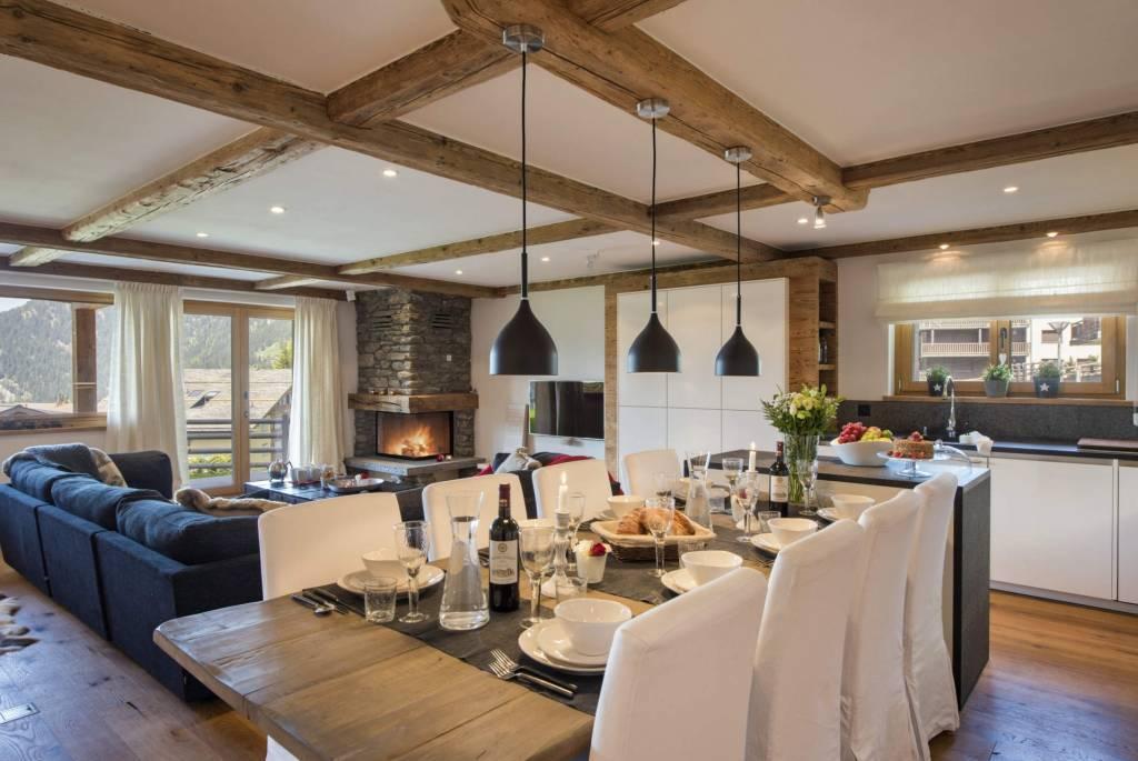 Verbier - Holiday rental - Apartment - 8 Persons - 3 Bedrooms - 3 Bathrooms - 145 m²