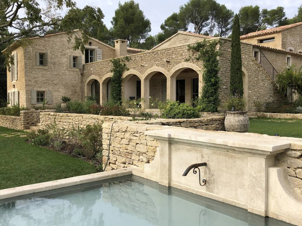 Lourmarin - House - Holiday rental - 14 Persons - 7 Bedrooms - Swimming pool.
