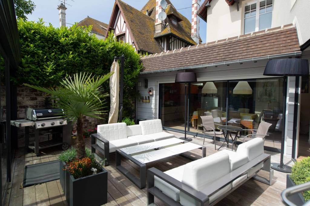 Deauville - Holiday rental - House - 8 Persons - 4 Bedrooms - 3 Bathrooms - 200 m² - Swimming pool