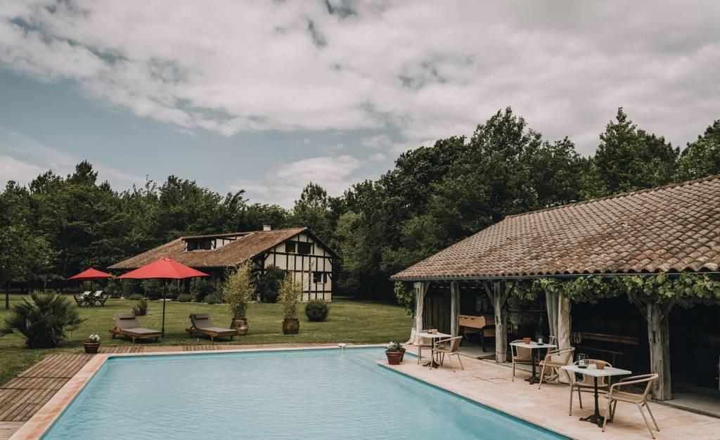 Hossegor - Maison  - Location saisonnière - 10 Personnes -  4 Chambres - Piscine