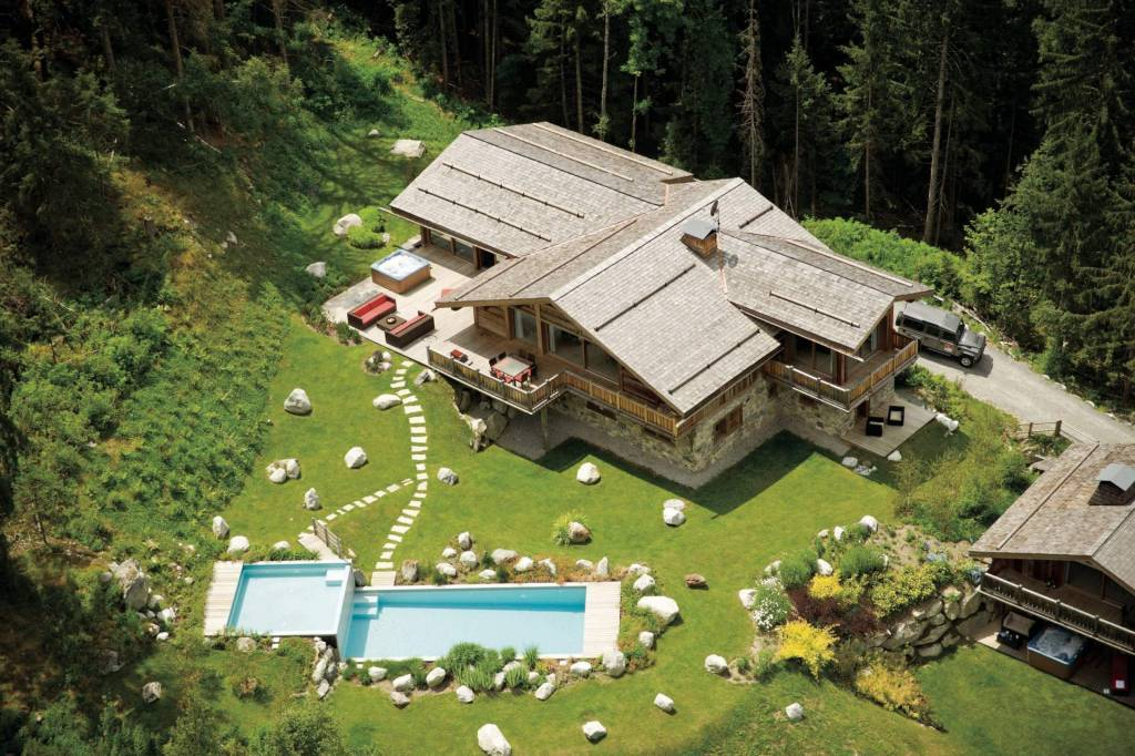 Chamonix - Location saisonnière - Chalet - Maison - 10 Personnes - 5 Chambres - 5 Salles de bain - Piscine