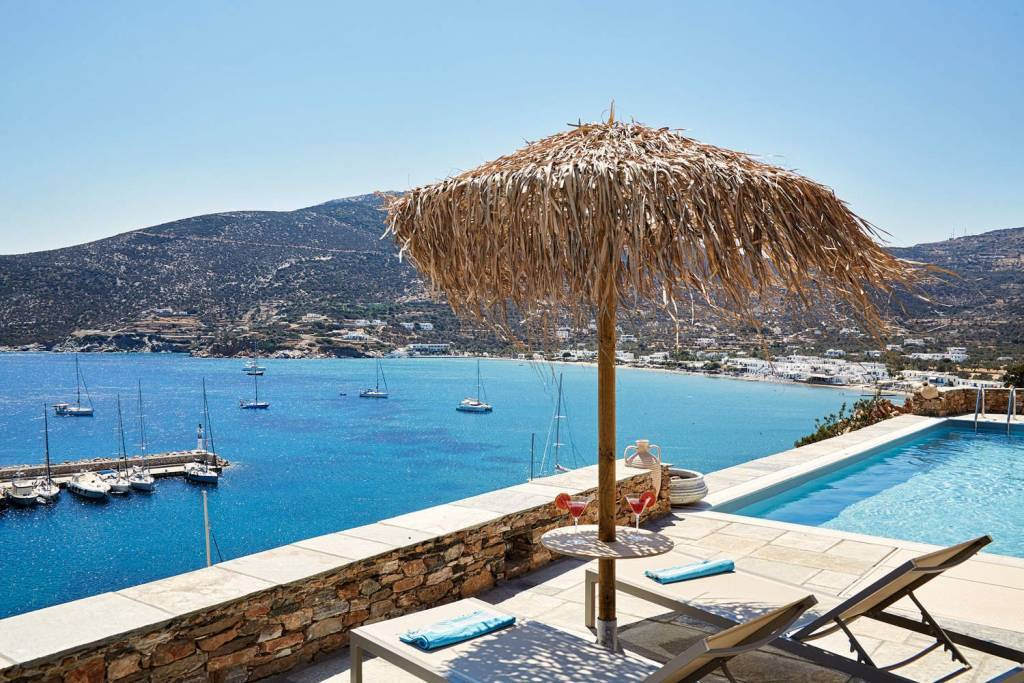 Sifnos - Cyclades Islands - Holiday rental - House - 6 Persons - 3 Bedrooms - 3 Bathrooms - Swimming pool