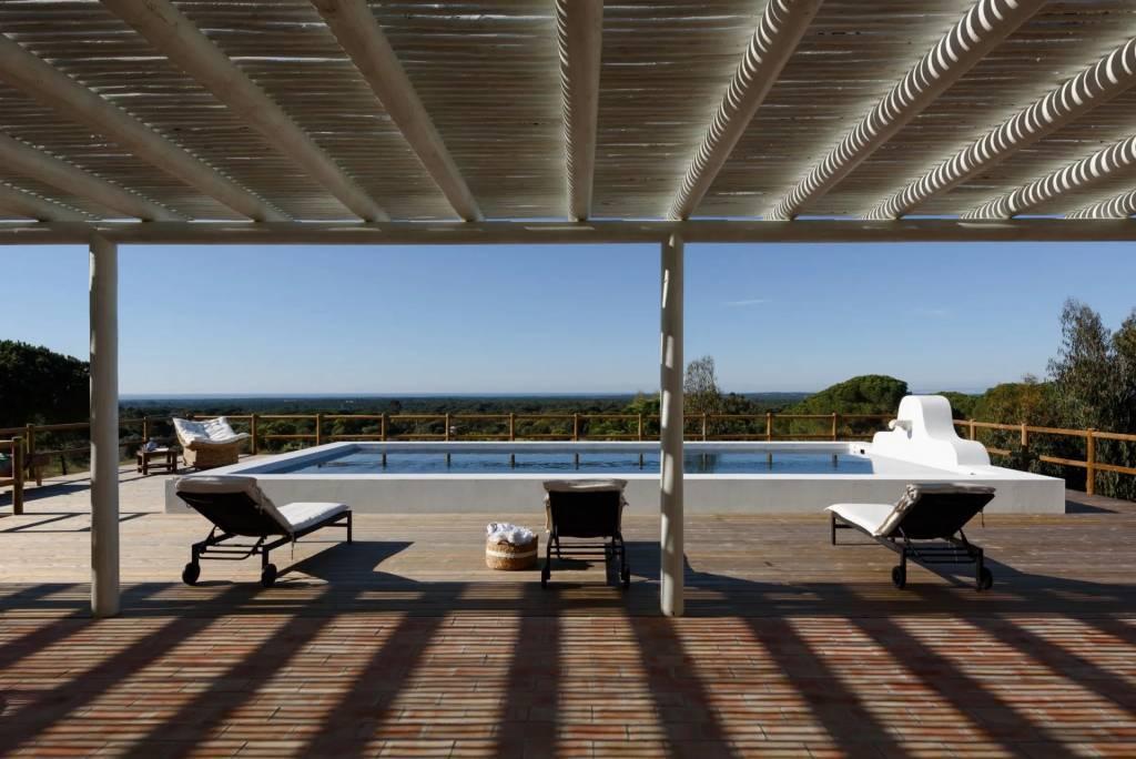 Melides - Maison - Location saisonnière - 10 Personnes - 5 Chambres - Piscine.