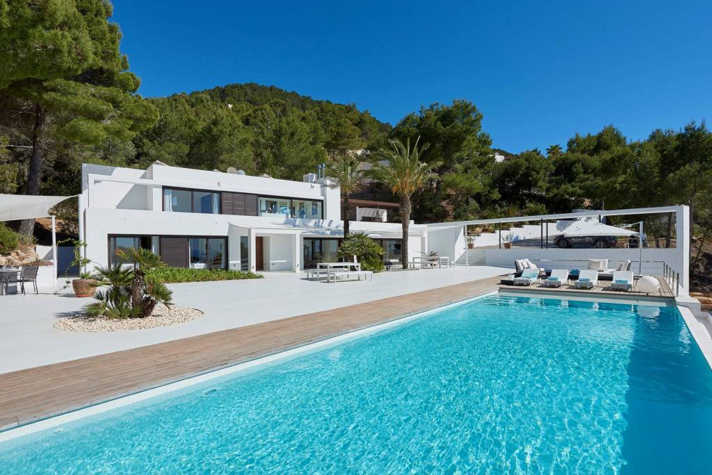 Balearic Islands - Ibiza - Holiday rental - House - 8 Persons - 4 Bedrooms - 4 Bathrooms - Swimming pool.