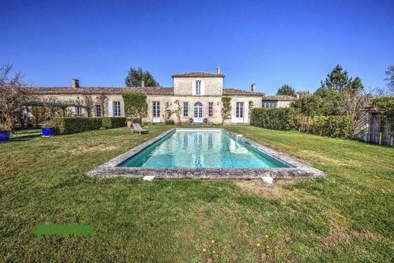 Bordeaux - Vente - Maison de maître - 430 m2 - Dépendance de 50 m2 - 5 Chambres - Piscine