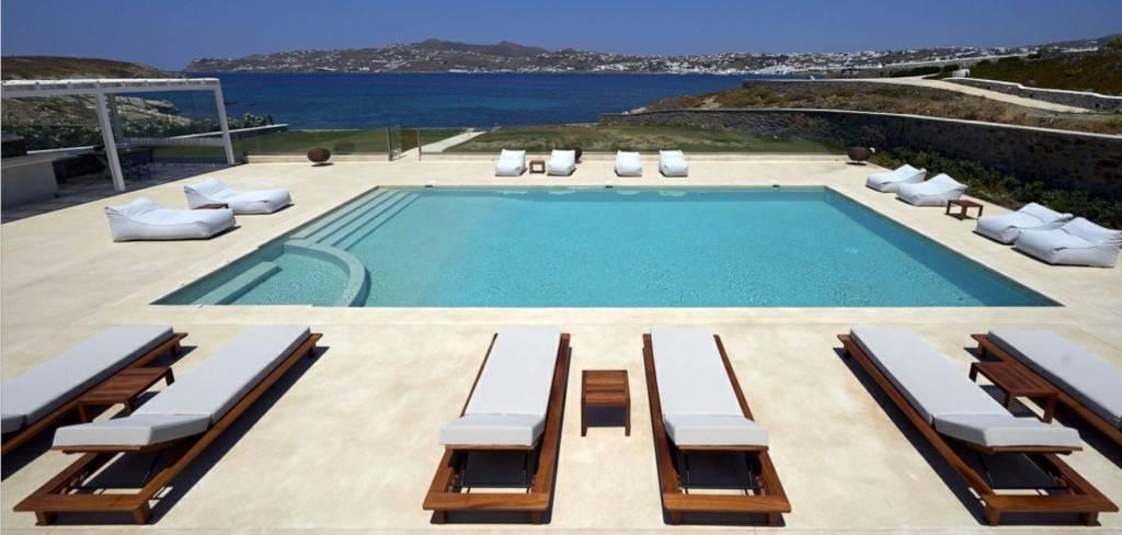Mykonos - Maison - Location saisonnière - 17 Personnes - 9 Chambres - Piscine.