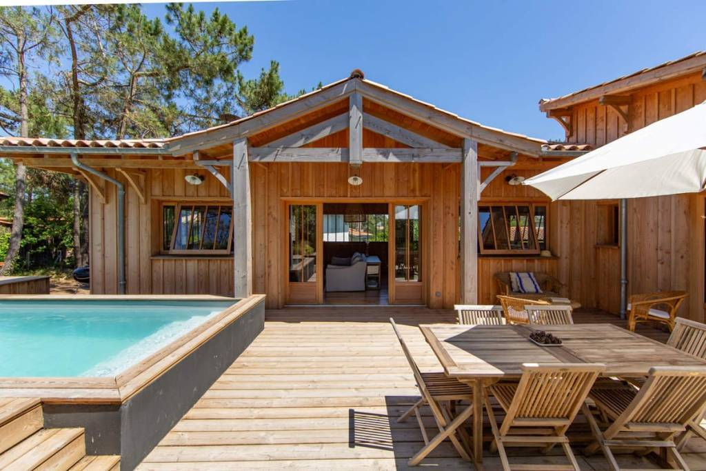 Cap Ferret - Holiday rental - House - 10 Persons - 5 Bedrooms - 4 Bathrooms - 170 m² - Swimming pool