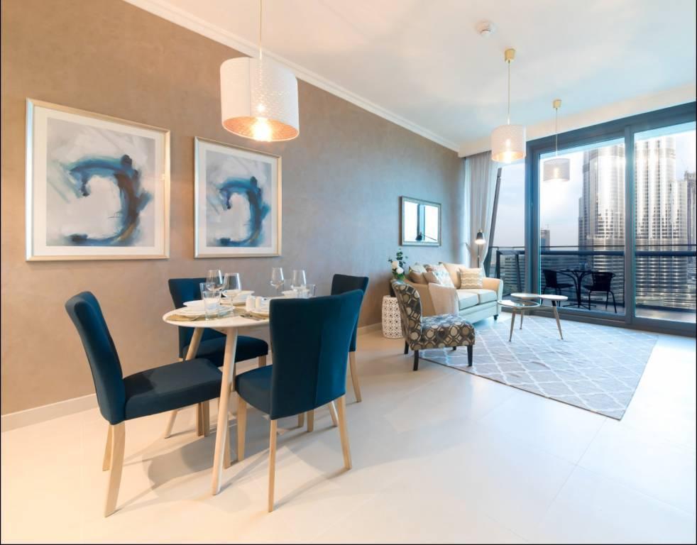 Dubaï - Appartement - Location saisonnière - 3 Personnes - 1 Chambre - Piscine