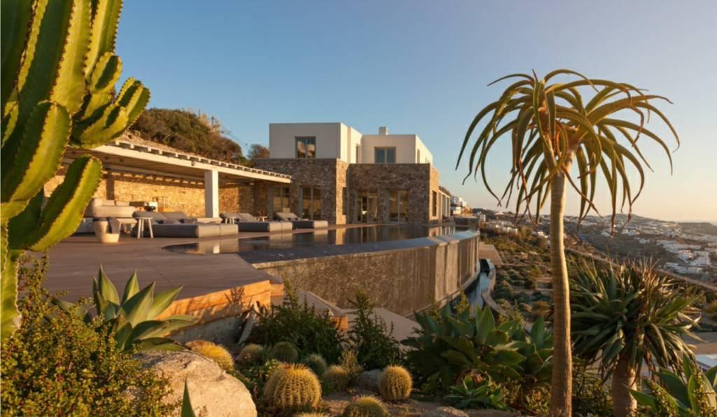 Mykonos - Casa - Alquiler vacaciones - 1050 m2 - 16 Personas - 8 Habitaciones - Piscina.