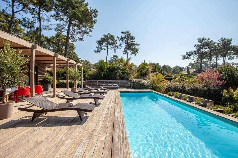 Cap Ferret - Holiday rental - House - 8 Persons - 4 Bedrooms - 4 Bathrooms - 240 m² - Swimming pool