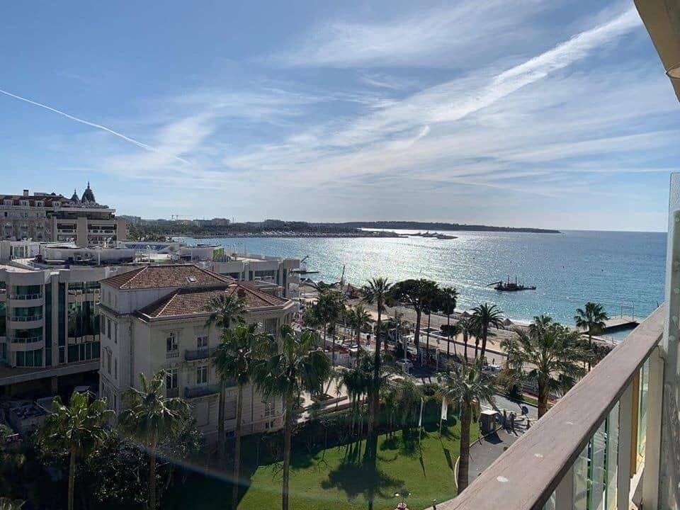 Cannes (La Croisette) - À Vendre - Appartement - Résidence de Standing - Terrasse - Gardien - Cave