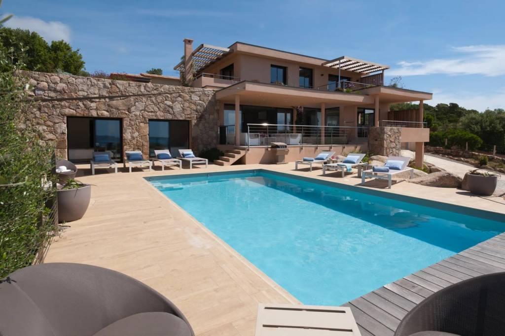 Corsica - Porto-Vecchio Region - Holiday rental - House - 12 Persons - 5 Bedrooms - 5 Bathrooms - Swimming pool.