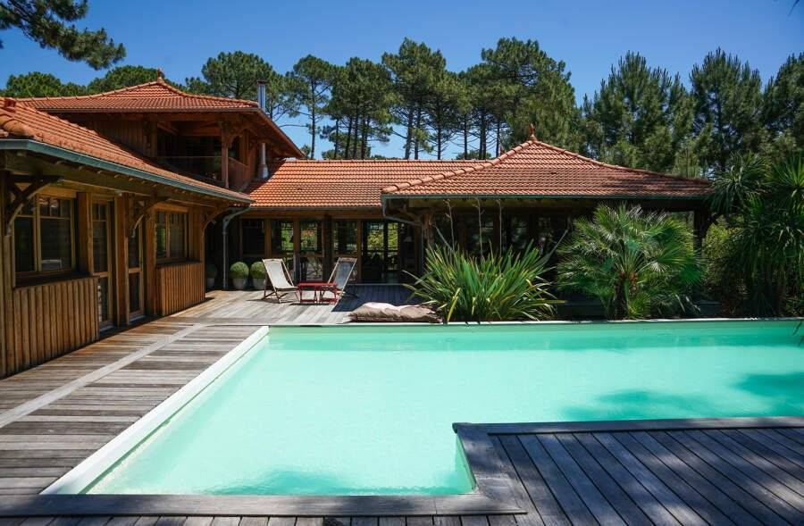 Cap Ferret - Holiday rental - House - 10 Persons - 5 Bedrooms - 3 Bathrooms - 200 m² - Swimming pool