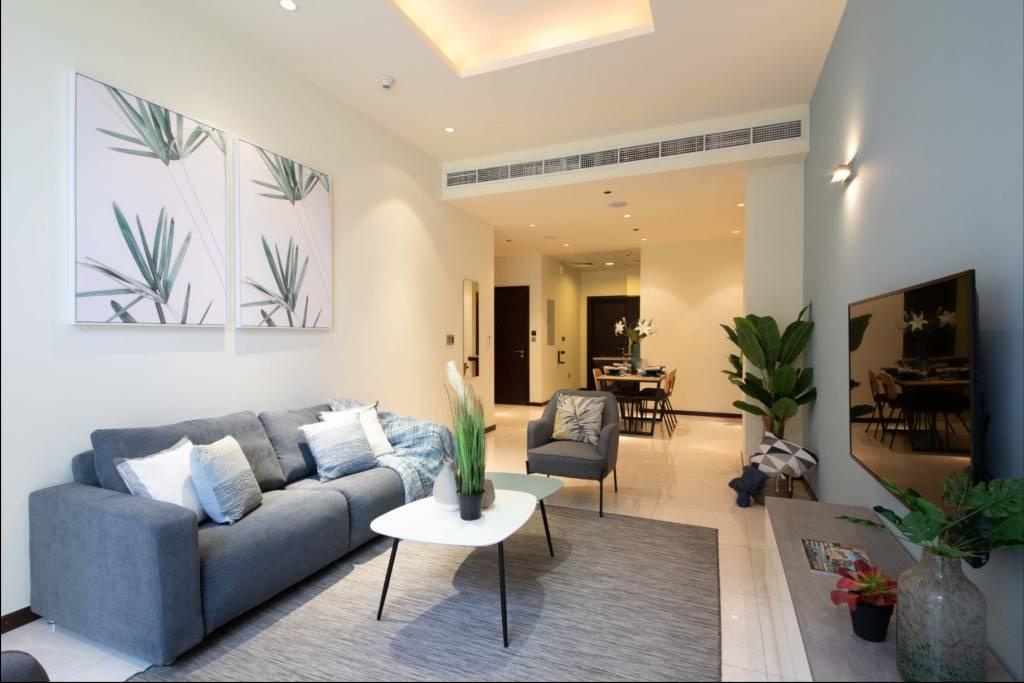 Dubaï - Appartement - Location saisonnière - 3 Personnes - 1 Chambre - Piscine - Plage.