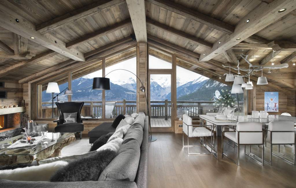 Courchevel 1550 Le Village - House - Chalet - Holiday rental - 10 Persons - 5 Bedrooms - 5 Bathrooms - Jacuzzi