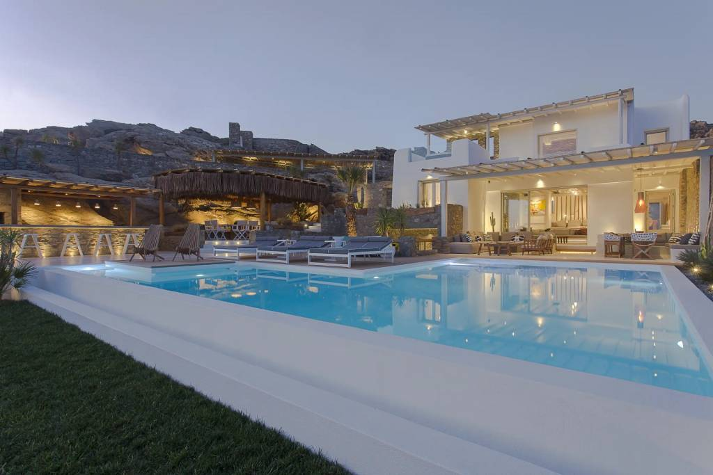 كراء موسميَ منزل Mykonos