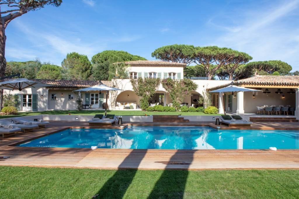 Saint-Tropez - Location saisonnière - Maison - 6 Chambres - 500 m2 - Piscine