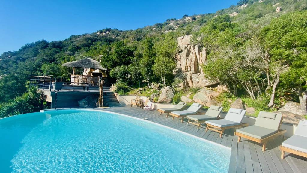 Corsica - Porto Vecchio - Holiday rental - House - 10 Persons - 5 Bedrooms - 5 Bathrooms - Swimming pool.