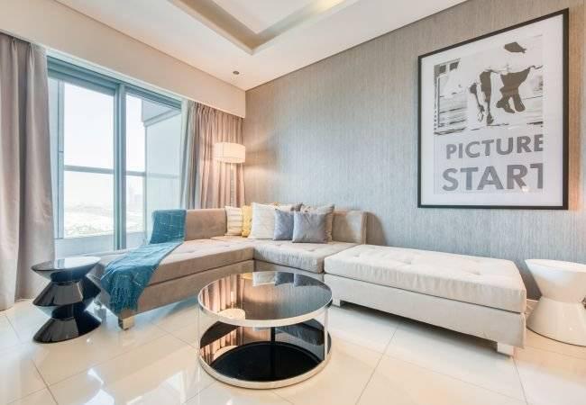 Dubai - Holiday rental - Apartment - 3 Persons - 1 Bedroom - 1 Bathroom - 87 m2 - Swimming pool