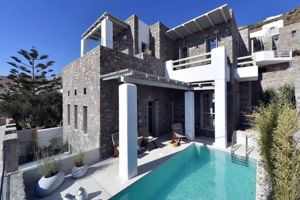 Mykonos - Maison - Location saisonnière - 14 Personnes - 7 Chambres - Piscine