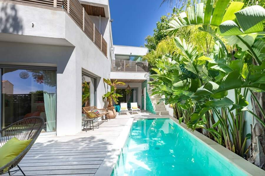 Marseille - Holiday rental - House - 8 Persons - 4 Bedrooms - 3 Bathrooms - 170 m² - Swimming pool