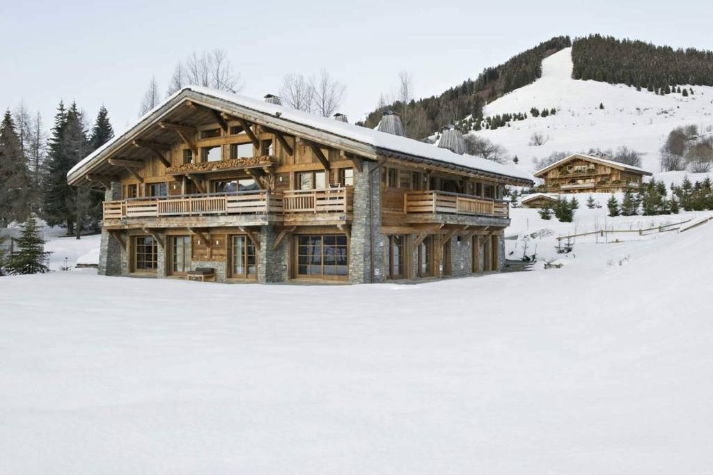Megève - Alquiler vacacional - Chalet - Casa - 12 Personas - 5 Habitaciones - 7 Baños - Piscina