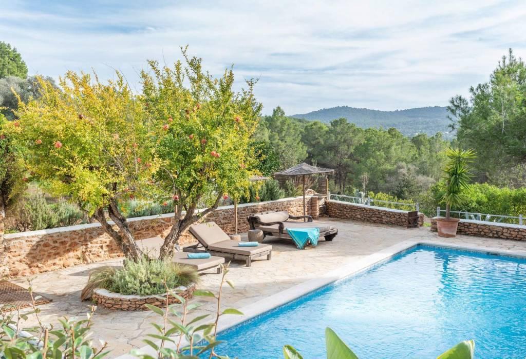 Ibiza - Alquiler vacacional - Casa - 10 Personas - 5 Habitaciones - 3 Baños - Piscina.