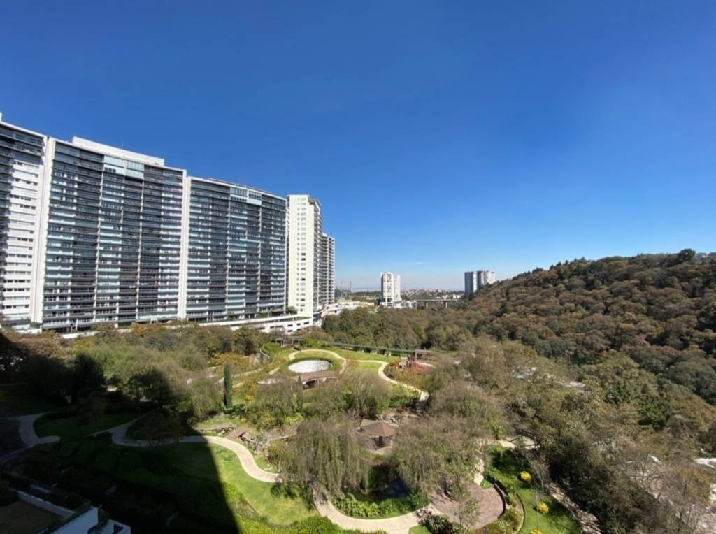 Mexico City - Cumbres de Santa Fe - For rent - Apartment - 3 Bedrooms - 3.5 Bathrooms.