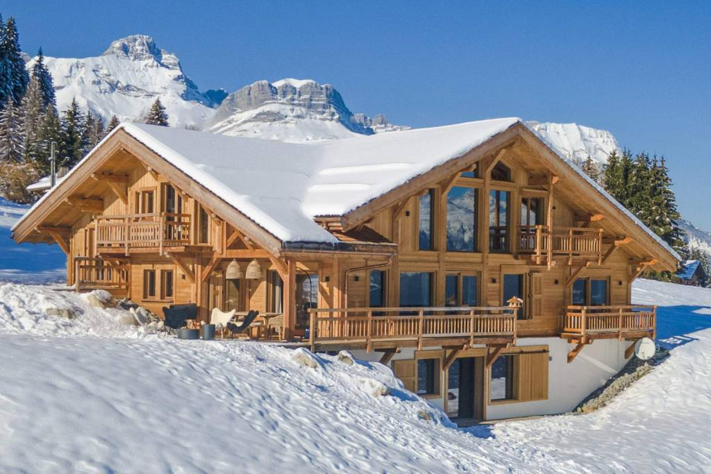 Combloux - Holiday rental - Chalet - House - 14 Persons - 5 Bedrooms - 5 Bathrooms - Swimming pool
