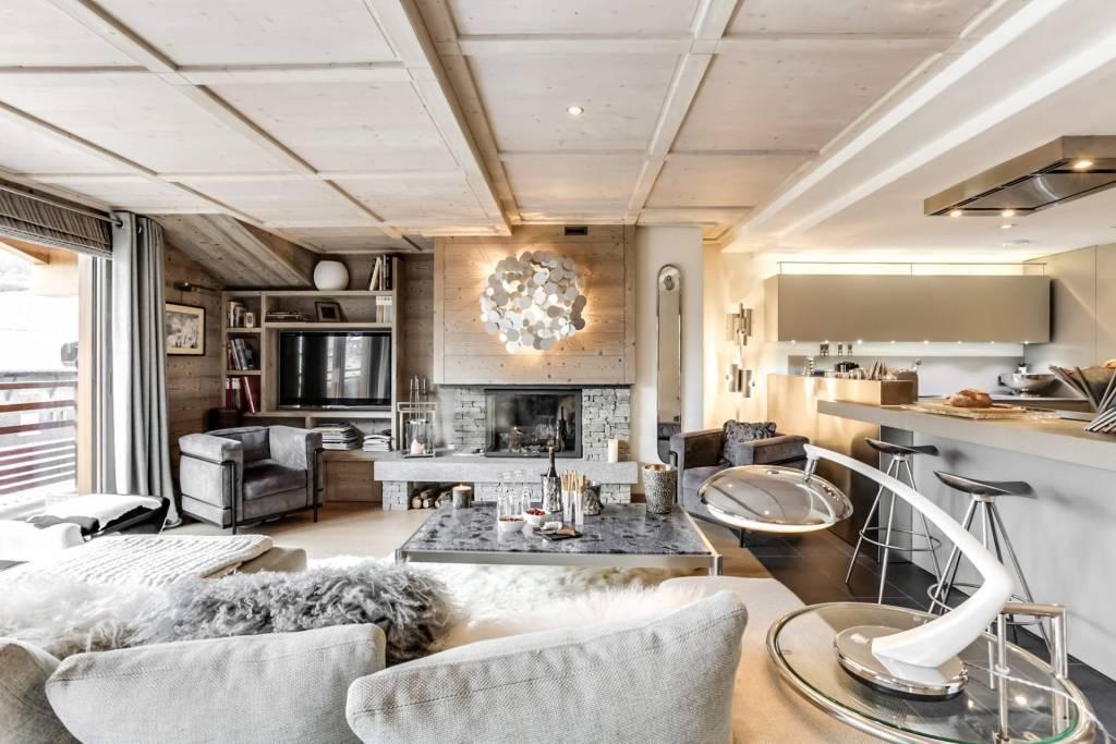 Megève - Alquiler vacacional - Apartamento - 6 Personas - 3 Habitaciones - 3 Baños