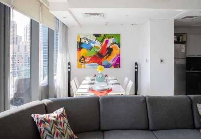 Dubai - Alquiler vacacional - Apartamento - 5 Personas - 3 Habitaciones - 3 Baños - 166 m2 - Piscina
