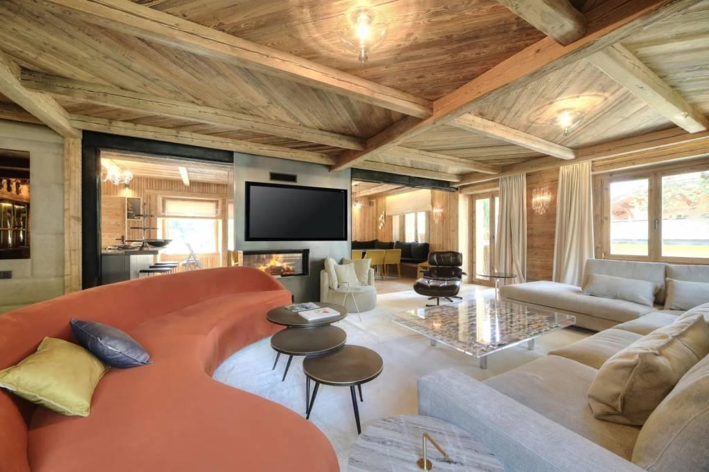 Megève - Alpes Françaises - Maison - Location saisonnière - 16 Personnes - 8 Chambres - Piscine