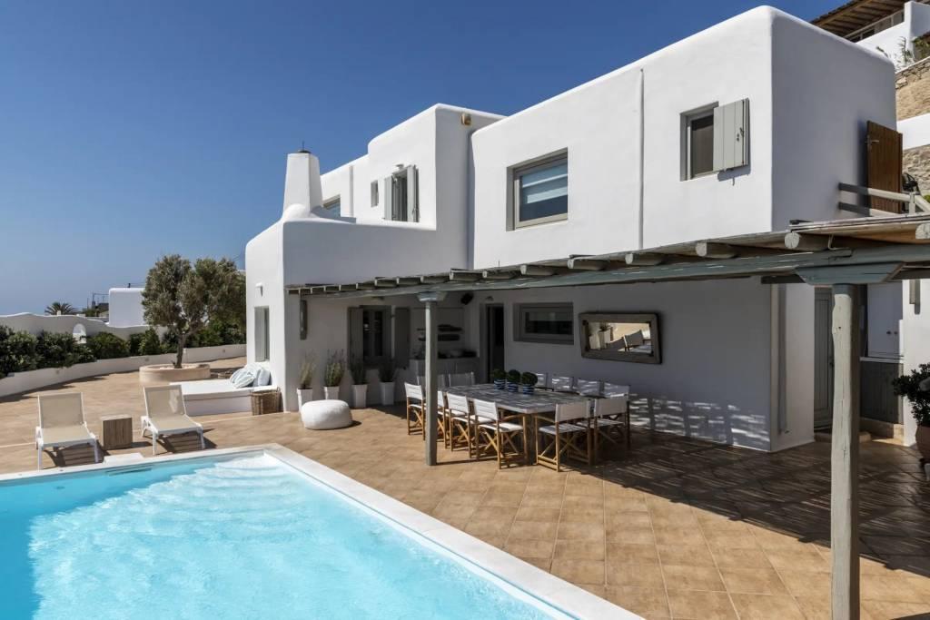 Mykonos - Maison - Location saisonnière - 10 Personnes - 5 Chambres - Piscine