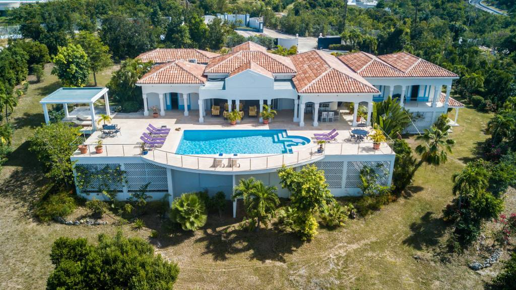 Saint-Martin - Caribbean - House - Holiday Rental - 8 Persons - 4 Bedrooms - Swimming pool