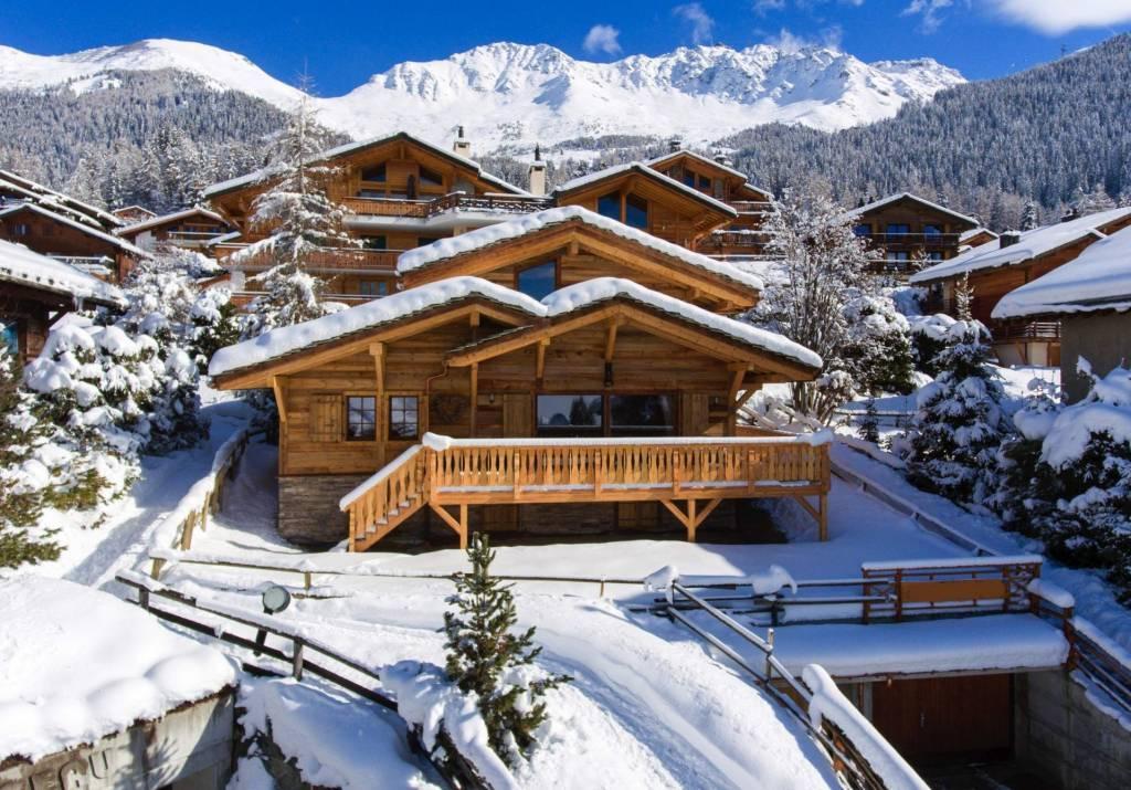 Verbier - Location saisonnière - Chalet - Maison - 10 Personnes - 5 Chambres - 5 Salles de bain - Hammam