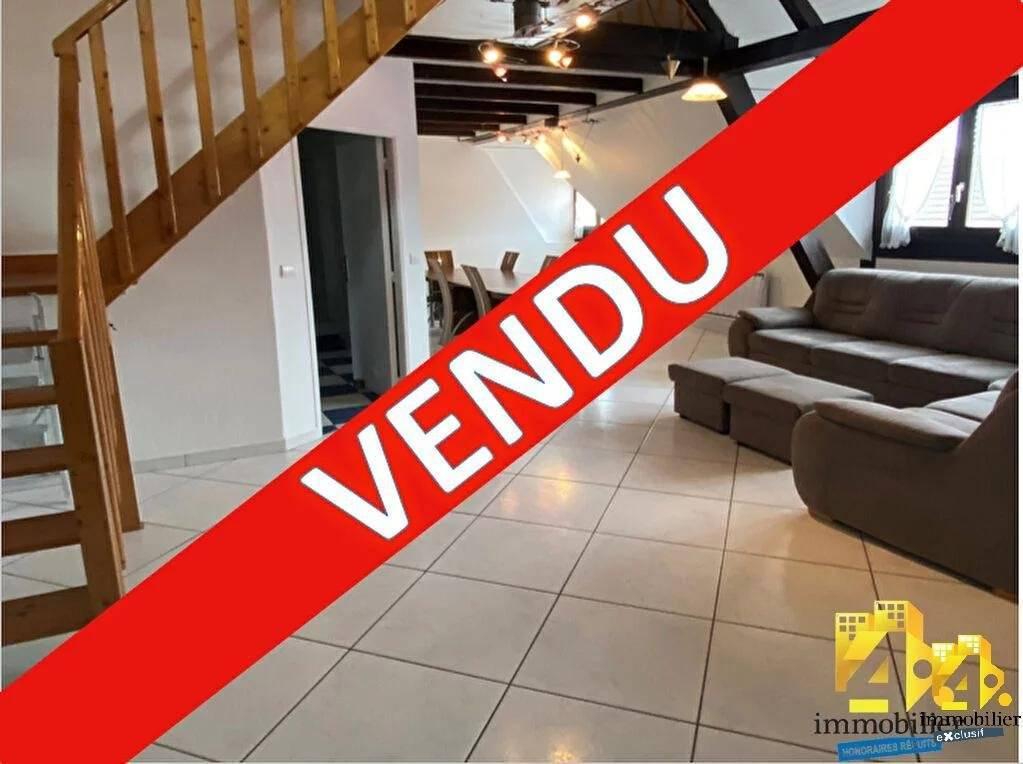 Duplex Rixheim 3 pièces 66.3 m2