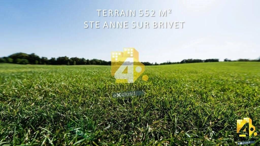 Terrain Sainte Anne Sur Brivet 552 m2