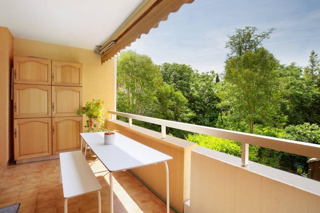 AIX Chemin de Brunet - Appartement 80 m² avec 2 terrasses au calme absolu - garage et cave