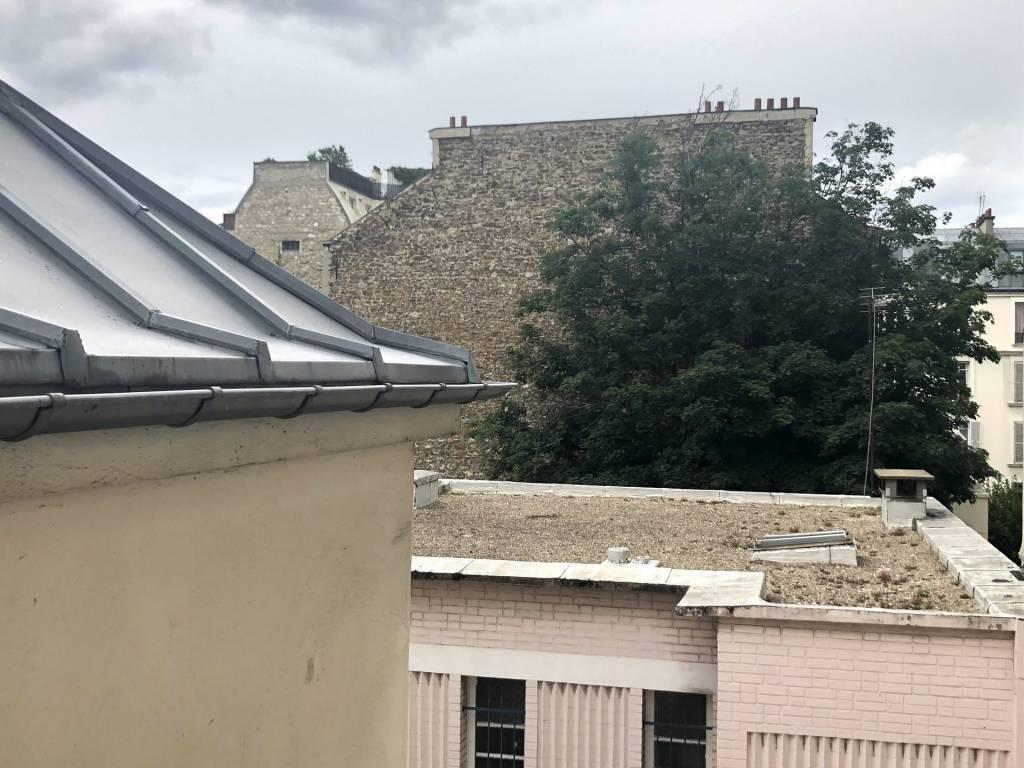 75005/Luxembourg:  2 pièces traversant au dernier étage